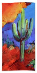 Under The Sonoran Sky By Elise Palmigiani Bath Towel