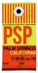 Psp Palm Springs Luggage Tag I Hand Towel