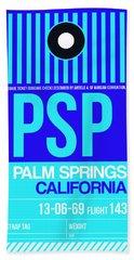 Psp Palm Springs Luggage Tag II Hand Towel