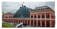 Puerta De Atocha Railway Station Bath Towel