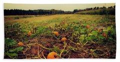 Pumpkin Picking Hand Towel