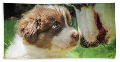 Puppy Dog Bath Towel