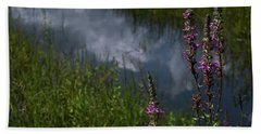 Purple Daydream Hand Towel