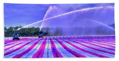 Purple Grain Hand Towel