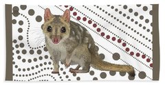 Q Is For Quoll Bath Towel