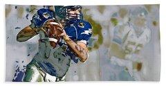Quarterback, American Football Hand Towel