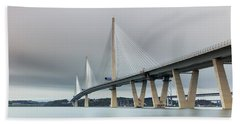 Queensferry Crossing Bridge 3-1 Bath Towel