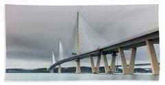 Queensferry Crossing Bridge 3-1 Bath Towel