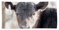 R181 Cow Hand Towel