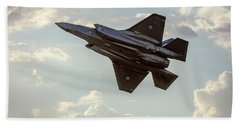 Raaf F-35a Lightning II Joint Strike Fighter Bath Towel