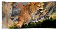 Raccoon 609 Bath Towel