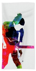 Radiohead Watercolor Bath Towel