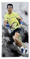 Rafael Nadal Hand Towel