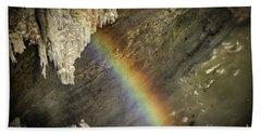 Rainbow At Letchworth Bath Towel