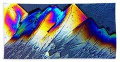 Rainbow Mountains Bath Towel