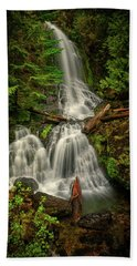 Rainier Falls Creek Falls Hand Towel