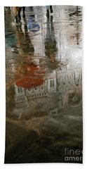 Raining Evening In Florence Italy Hand Towel