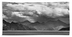 Hand Towel featuring the photograph Rains In China by Whitney Goodey