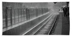 Rainy Days And Metro Hand Towel
