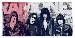 Ramones Hand Towel