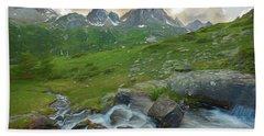 Range In The Claree Valley II Hand Towel