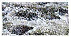 Rapids At Satans Kingdom Bath Towel