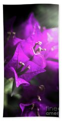 Rays Of Bougainvillea Hand Towel
