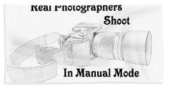 Real Photographers Bath Towel