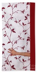 Red #0586 Hand Towel