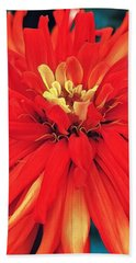 Red Bliss Hand Towel
