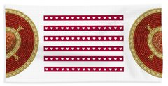 Red Heart Hand Towel