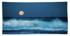 Red Moon Bath Towel