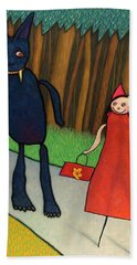 Little Red Riding Hood Bath Towels