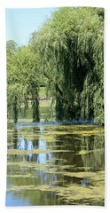 Reflections From Mother Willow Bath Towel