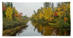 Reflections In Autumn Hand Towel
