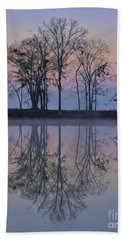 Reflections On The Lake Hand Towel