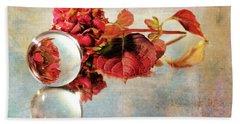 Hand Towel featuring the photograph Reflective Mood by Randi Grace Nilsberg