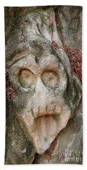 Reliefs Of Stone Hollow Road, Czech Republic Bath Towel