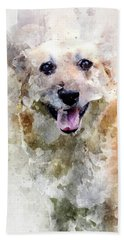Remember The Four-legged Smile Hand Towel