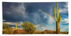 Hand Towel featuring the photograph Respite From The Storm by Rick Furmanek