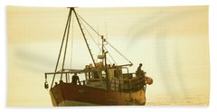 Returning To Harbour Hand Towel
