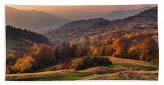 Rhodopean Landscape Hand Towel
