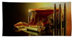Rifle Bullet Bath Towel