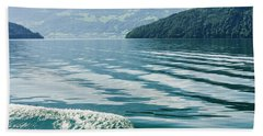 Ripples On Lake Lucerne Hand Towel