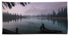 Rising From The Fog Hand Towel