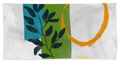Rising With The Sun 1- Art By Linda Woods Bath Towel