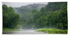 River Mist Bath Towel