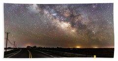 Road To Milky Way Hand Towel
