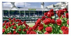 Road To The Roses Hand Towel