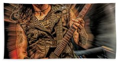 Rob Cavestany Death Angel Hand Towel